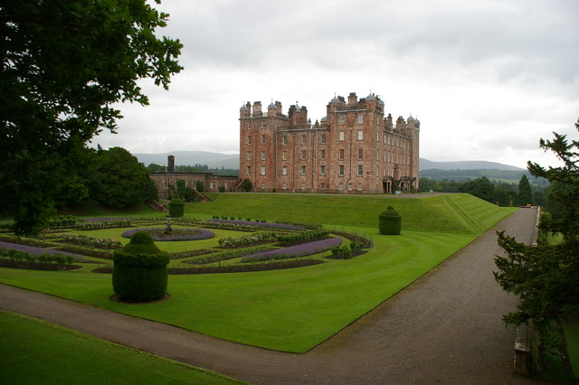 Drumlanrig Castle Garden Source Wikipedia