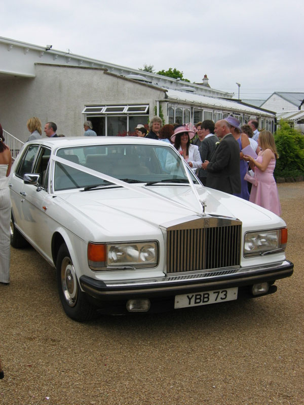 Scotland Dumfries & Galloway Gretna Green Wedding Rolls-Royce Scotiana 2004