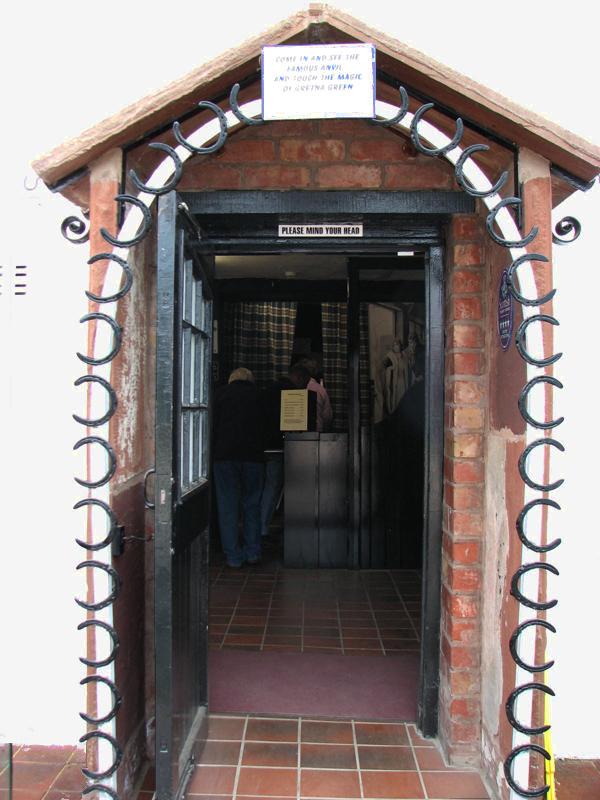 Scotland Dumfries & Galloway Gretna Green anvil room  Scotiana 2007