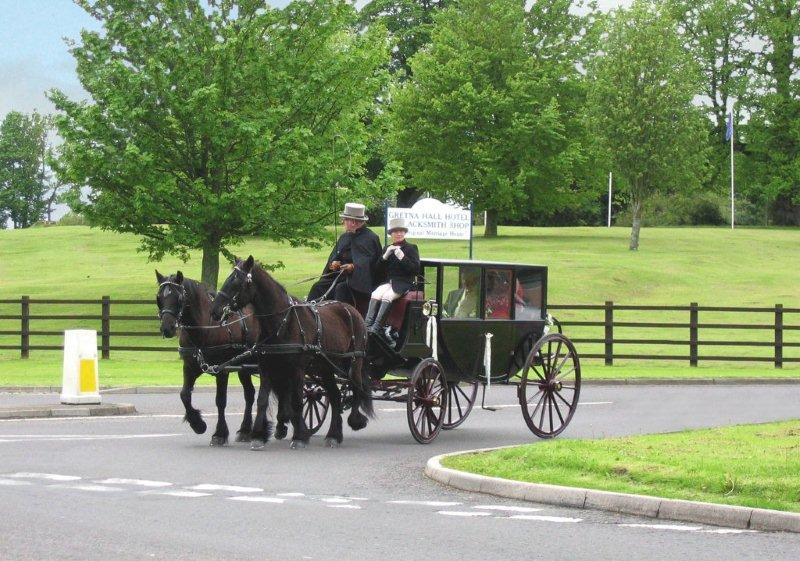 Scotland Dumfries & Galloway Gretna Green wedding stagecoach Scotiana 2006