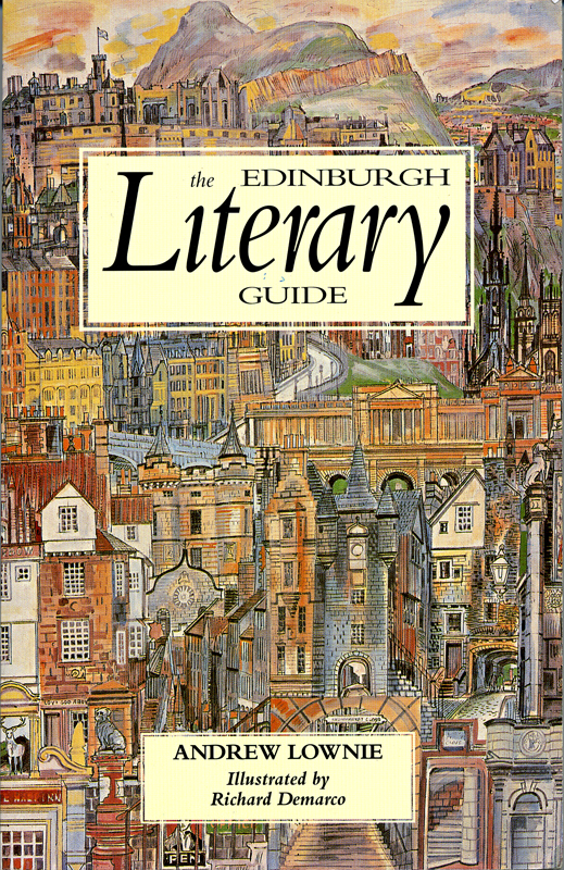 The Edinburgh Literary Guide Andrew Lownie  Canongate 1992