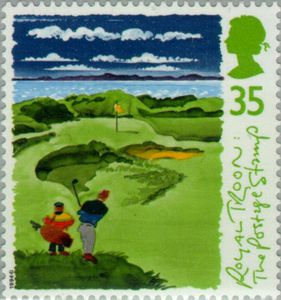 Royal Troon Scottish Golf Courses - GB 1994 Postage Stamps