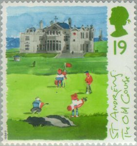 Scottish Golf Courses - St Andrews - GB 1994 Postage Stamps