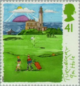 Turnberry Scottish Golf Course - GB 1994 Postage Stamps