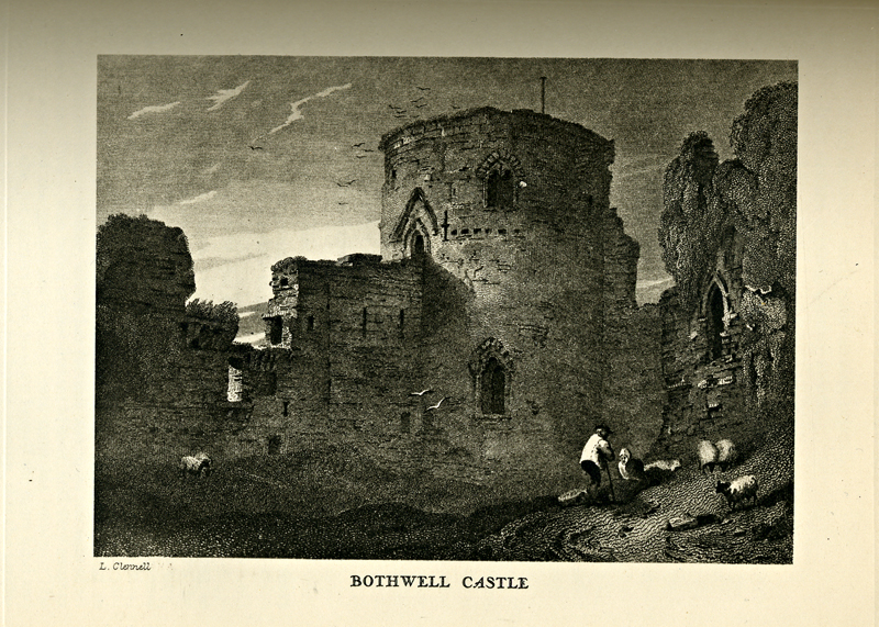 Minstrelsy of the Scottish Border Walter Scott Bothwell Castle Thomas Henderson 1831 edition