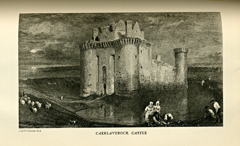 Minstrelsy of the Scottish Border Walter Scott Caerlaverock CastleThomas Henderson 1831 edition