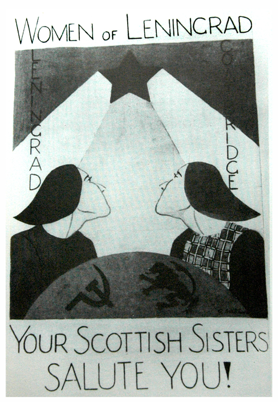 To Women of Leningrad image Dear Allies Margaret Henderson 1988 Monklands District Libraries