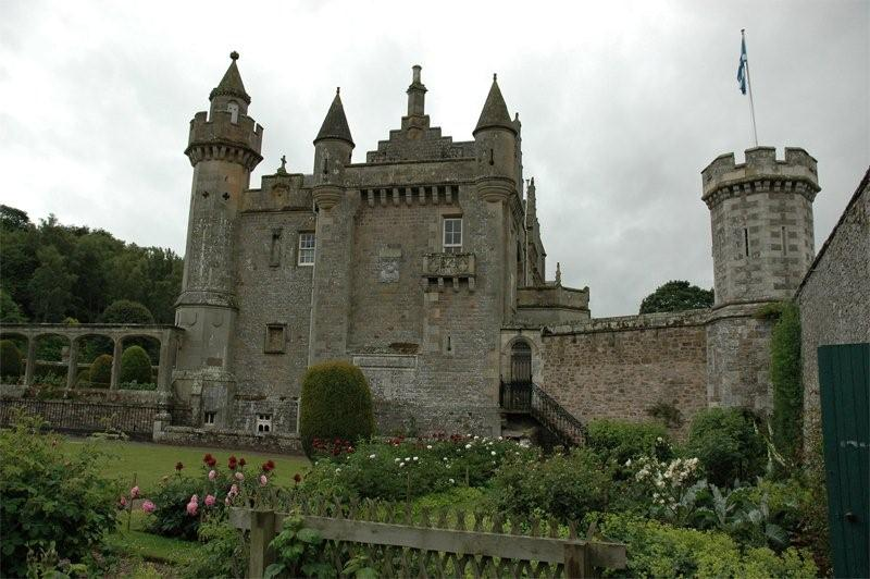 Scotland Scottish Borders Sir Walter Scott Abbotsford  2006 Scotiana