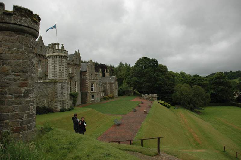 Scotland Scottish Borders Home of Sir Walter Scott Abbotsford  2006 Scotiana