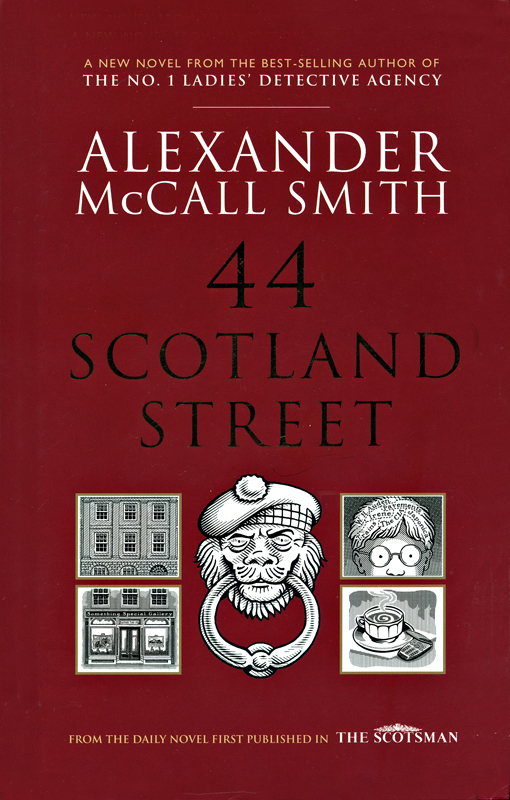 Alexander McCall Smith 44 Scotland Street front cover Polygon 2005