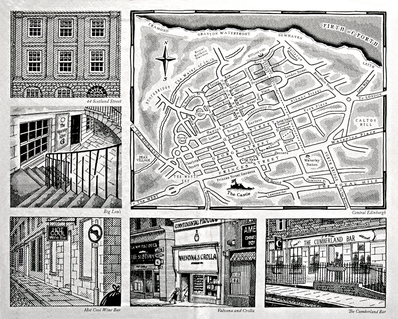 Alexander McCall Smith 44 Scotland Street 2005 Hardcover Polygon Edition Illustrations © Iain McIntosh 2005