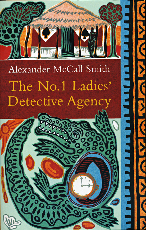 Alexander McCall Smith The No.1 Ladies' Detective Agency front cover Abacus 2008