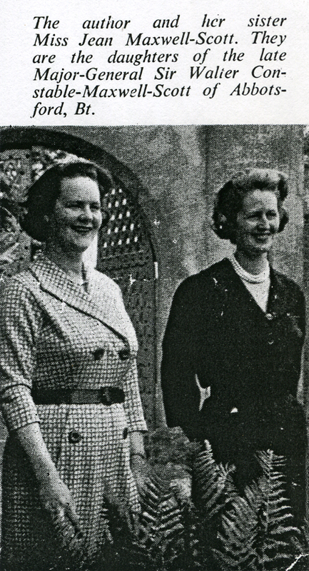 Patricia and Jean Maxwell-Scott Glasgow Illustrated April 1964