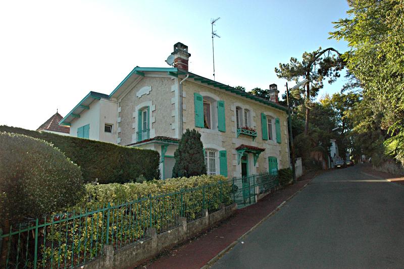 Arcachon Ville d'hiver Villa Soleil Levant (Hermosa)  © 2011 Scotiana