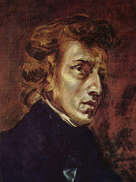 Chopin by Eugène Delacroix 1838 - Musée du Louvre