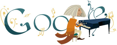 Franz Liszt birthday anniversary  Google image 22 october 2011  © Google