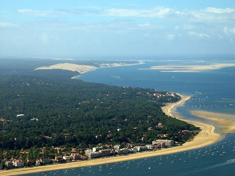 Arcachon et la dune du Pyla Source Wikipedia