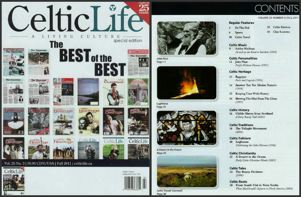 Celtic-Life-25th-Ann-Cover-Contents