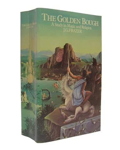 The Golden Bough - J G Frazer - Unicorn Book Cover Design