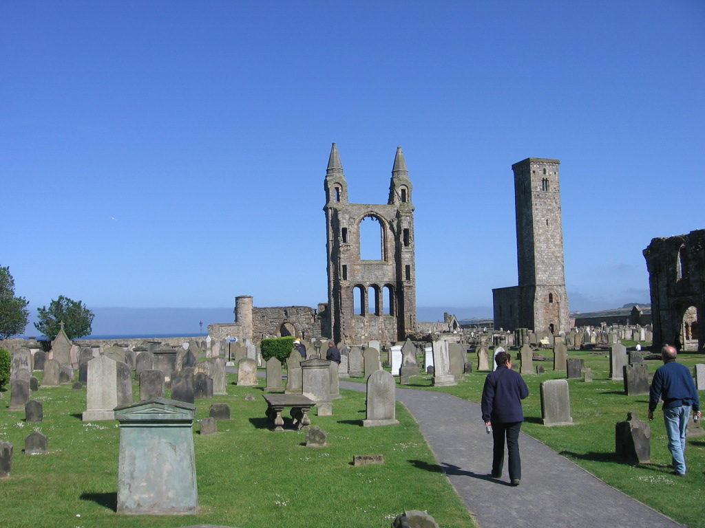 Ruins of St Andrews Cathedral, Scotland - Scotiana 2006