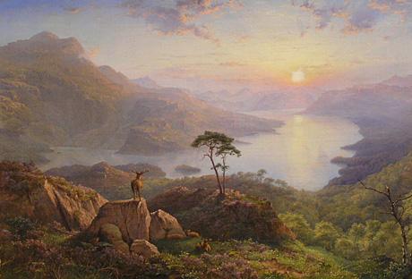 Loch Katrine James Trout Walton (1818-1867)