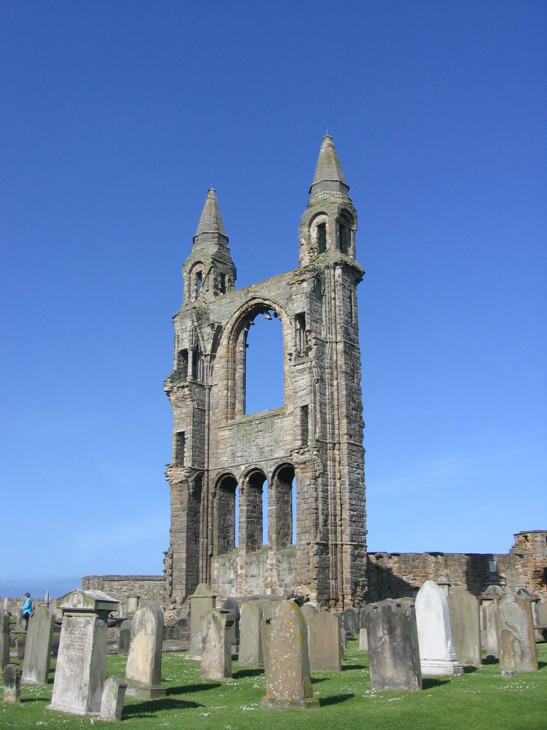 Ruins of St-Andrews Cathedral,Scotland