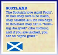 Scotland-April Fool's Day Tradition