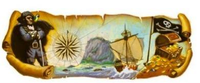 160th Birth Anniversary of Robert Louis Stevenson (13 November 2010 - Google Doodle)
