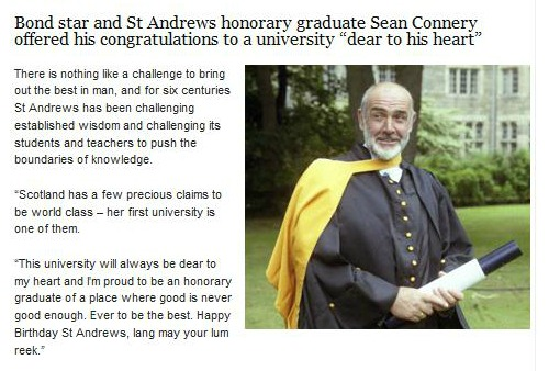 james-bond-sean-connery-st-andrew-graduate