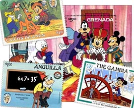 mark-twain-samuel-l-clemens-disney-postage-stamps