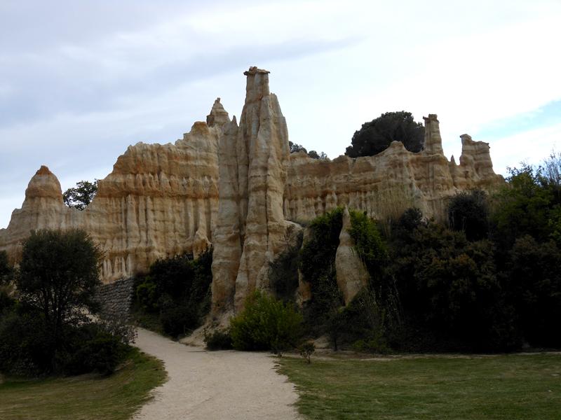 France Languedoc-Roussillon Pyrénées-Orientales Illes-sur-Têt Les Orgues   © 2012 Scotiana
