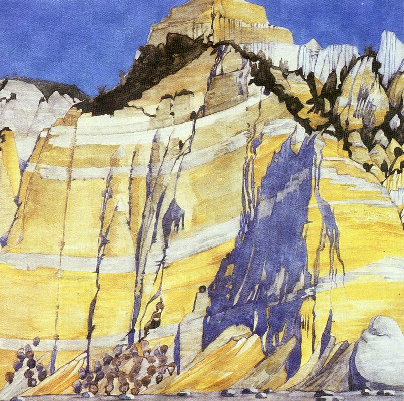 The Héré de Mallet  Mackintosh watercolour 1925