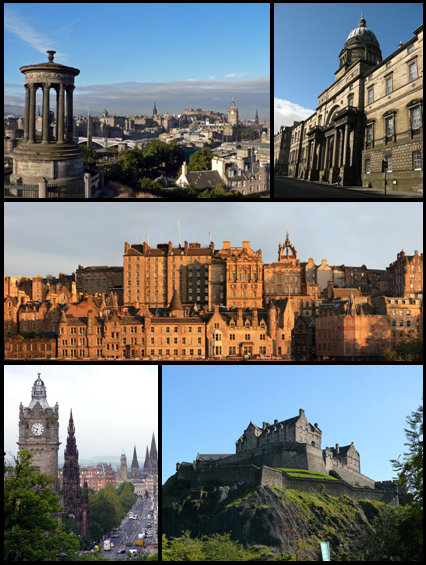 Edinburgh Wikipedia Montage