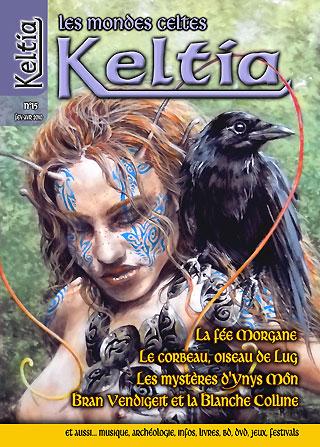 Keltia Les mondes celtes cover issue 15 février-avril 2010  Editions du Nemeton