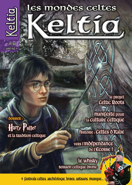 Keltia - Les mondes celtes - n° 20 août-octobre 2011 - Editions du Nemeton