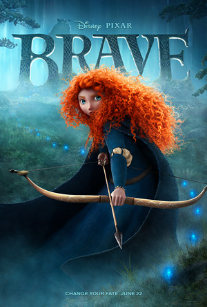 Teaser Poster of Disney Pixar film Brave - Source Wikipedia