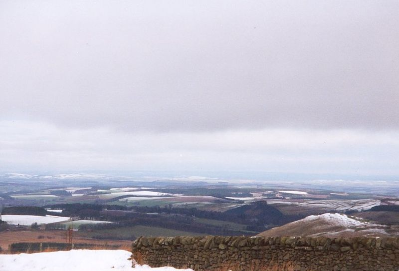 The Scottish Borders from Carter Bar (Ian A. Inman) - Source Wikipedia