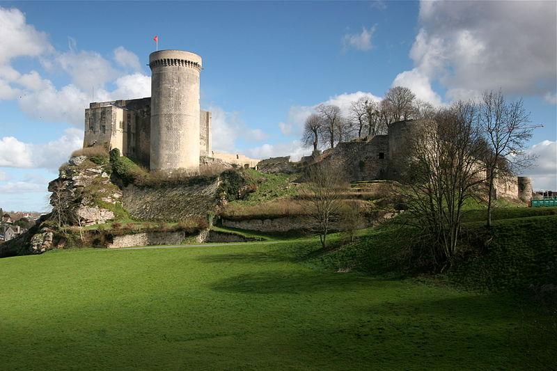 William the Conqueror castle in Falaise Normandy France Wikipedia