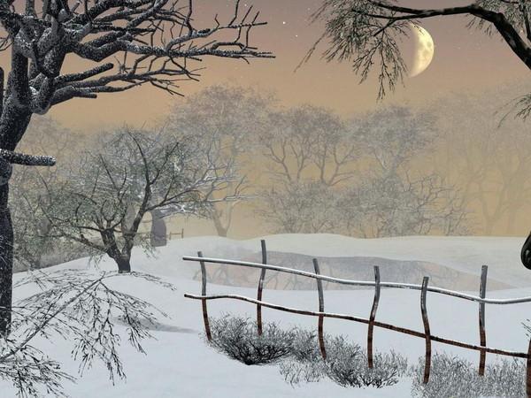 Winter landscape Le coffre aux images de Kate