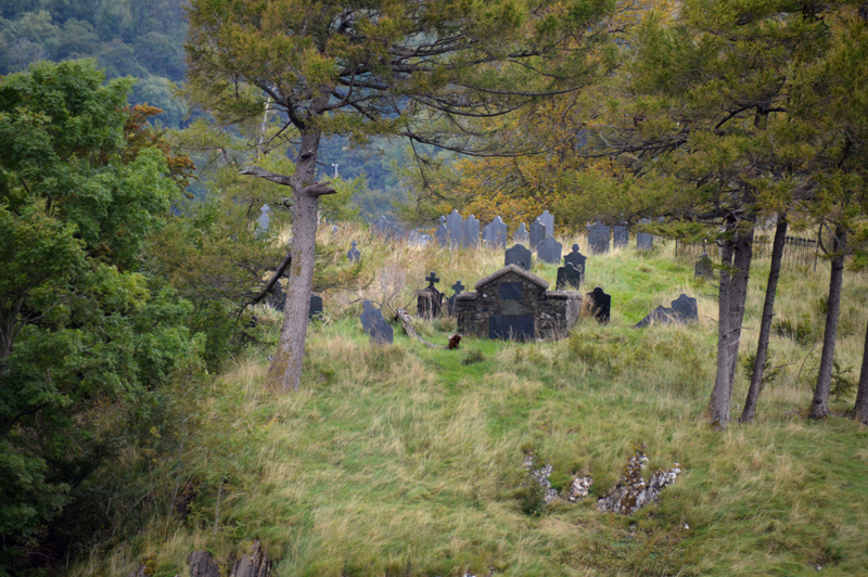 The MacDonalds graves on The Burial Islands Loch Leven © 2012 Scotiana