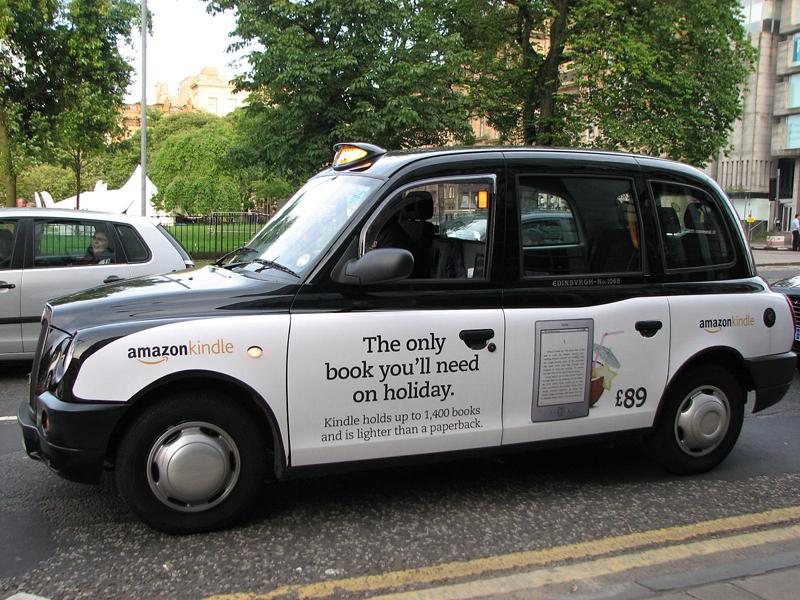 Edinburgh Taxi Amazon Kindle © 2012 Scotiana