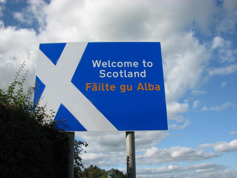 Failte gu Alba Welcome to Scotland panel © 2012 Scotiana