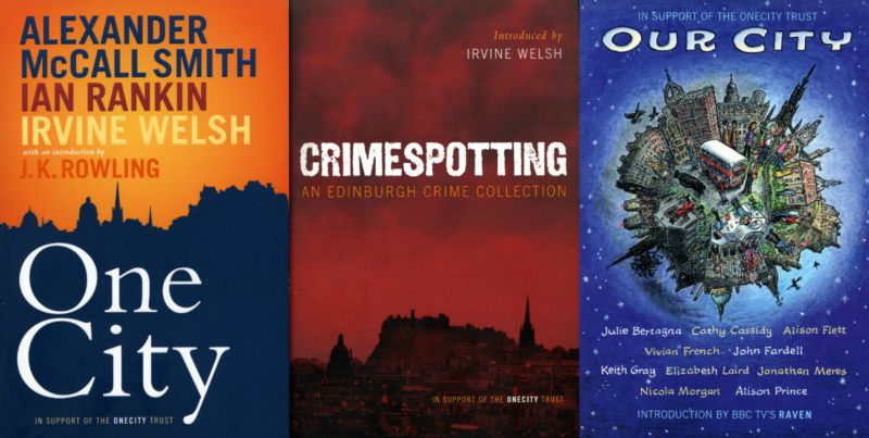 Books talking on and about Edinburgh