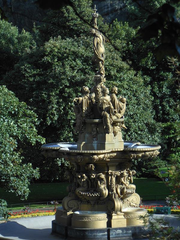Ross Fountain Princes Street Gardens Edinburgh  © 2012 Scotiana