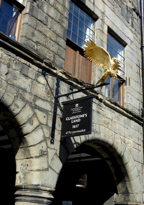 Gladstone Land Old Edinburgh  © 2012 Scotiana