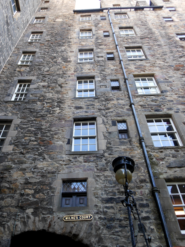Milnes Court Edinburgh's Old Town © 2012 Scotiana