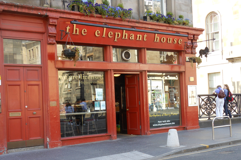 The Elephant House Edinburgh © 2012 Scotiana