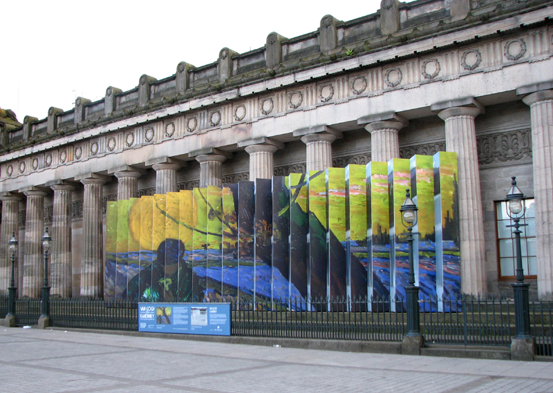Van Gogh to Kandinsky exhibition at the National Galleries of Scotland  © 2012 Scotiana