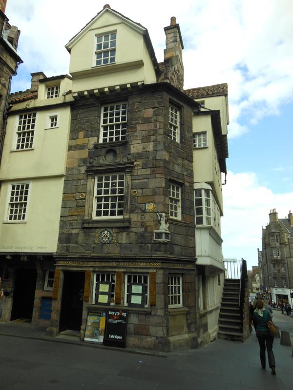 John Knox House High Street Edinburgh © 2012 Scotiana