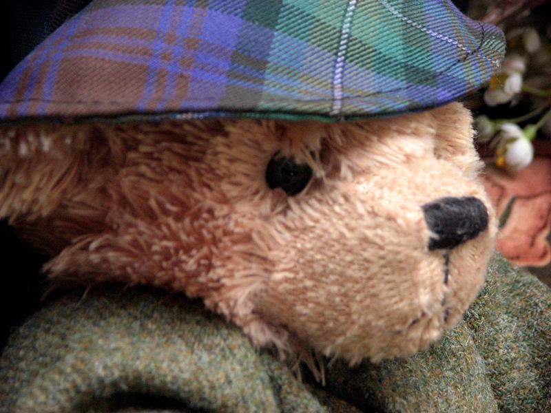 Scottish teddy bear Neanie Scott shop Canongate Edinburgh © 2012 Scotiana